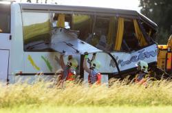Nehoda autobusu u Litovle