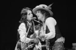 Joan Baezová a Bob Dylan