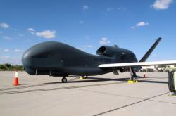 Americký bezpilotní letoun Global Hawk, který údajně sestřelil Írán