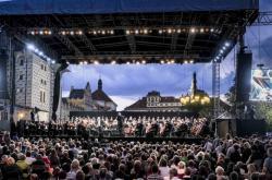 Open air koncert České filharmonie na Pražském hradě