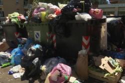 Odpadky v Římě