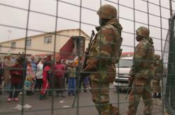 Vojáci v Kapském Městě