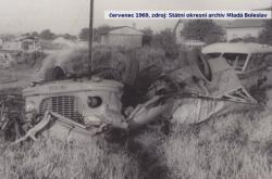 Nehoda v Bezděčíně před 50 lety