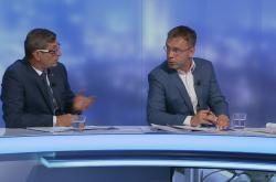Kremlík a Nytra hosty pořadu Události, komentáře