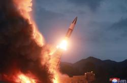 Test severokorejské střely