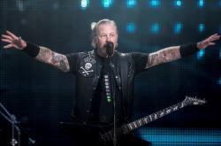 Koncert kapely Metallica v Dánsku