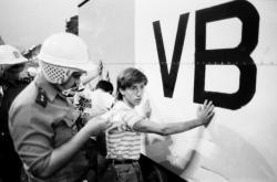 Zásah proti demonstrantům na Václavském náměstí 21. srpna 1989