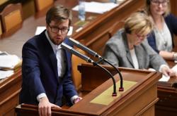 Jakub Michálek v Poslanecké sněmovně