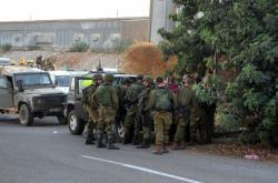 Izraelská armáda u hranic s Libanonem