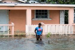 Zatopený dům na Bahamách