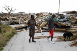 Hurikán Dorian po sobě na Bahamách zanechal spoušť
