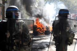 Zásah policistů v Paříži