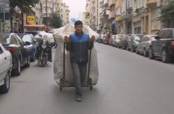 Uprchlík v ulicích Istanbulu