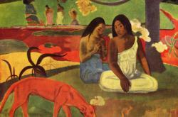 Gauguinův obraz Arearea