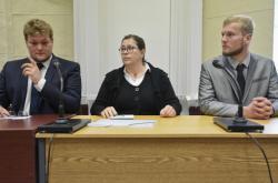 Niclas Steiger a Benjamin Wittig u soudu
