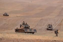 Turecká armáda zasahuje v Sýrii