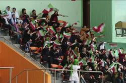 Íránské fotbalové fanynky