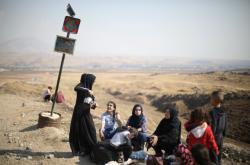 Vysídlení Kurdové na severu Sýrie