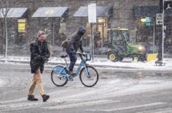 Zimní počasí v Chicagu