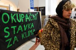 Studentská okupační stávka za klima