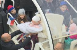 Papež František s Editou Anežkou
