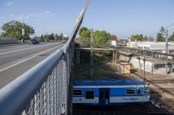 Most nad tratí
