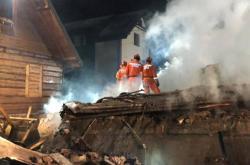 Výbuch plynu v městečku Szczyrk