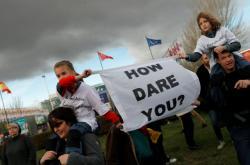 Aktivisté protestovali v Mardidu během klimatické konference
