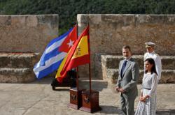 Španělský král Filip VI. na návštěvě Kuby