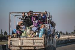Uprchlíci z Idlíbu