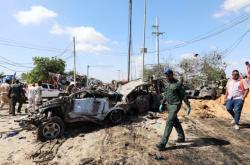 Bombový útok v Somálsku