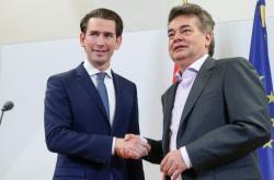 Sebastian Kurz (ÖVP) a Werner Kogler (Zelení - Zelená alternativa)