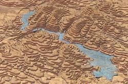 Obří mapu Moravy restaurují v Moravském zemském archivu