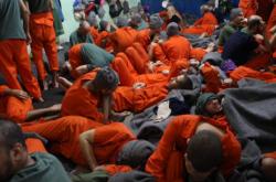 Věznice pro bojovníky IS na severu Sýrie
