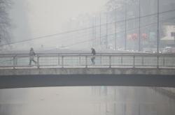 Smog v Sarajevu