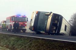 Nehoda autobusu u Blšan