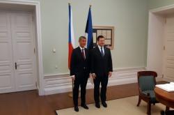 Babiš v Tallinu s estonským premiérem Ratasem