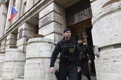 Zásah policie v budově ministerstva práce a sociálních věcí