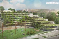 Plánovaný rekreační komplex na brněnských Vinohradech