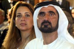Dubajský vládce šajch Muhammad bin Rašíd Maktúm s manželkou
