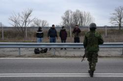 Uprchlíci na řecko-turecké hranici