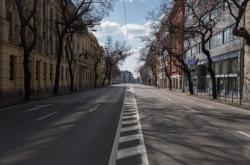 Prázdné ulice Bratislavy