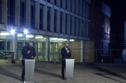 Fiala, Kalousek a Havlíček při debatě