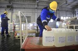 Výroba dezinfekce