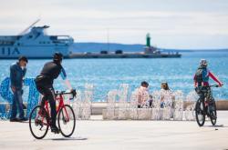 Split bez turistů