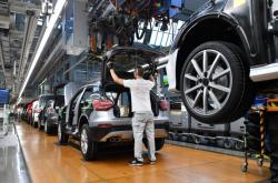 Výroba aut Audi