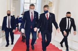 Předseda senátu Miloš Vystrčil na návštěvě na Slovensku