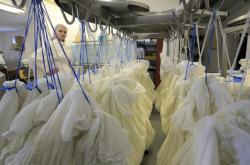 Zrání tvarohu v mlékárně kozí farmy Dvůr Ratibořice