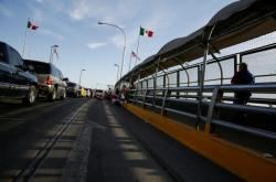 Přechod mezi Ciudad Juarez a El Paso