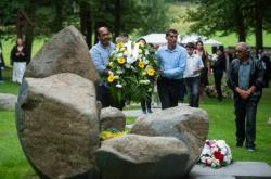Pietní akt k uctění památky romských obětí nacismu